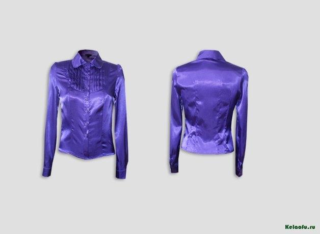 Блуза фиолетовая. Артикул 74073