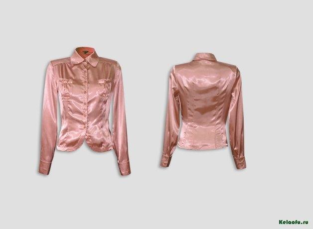 Блуза терракотовая. Артикул 74018-2