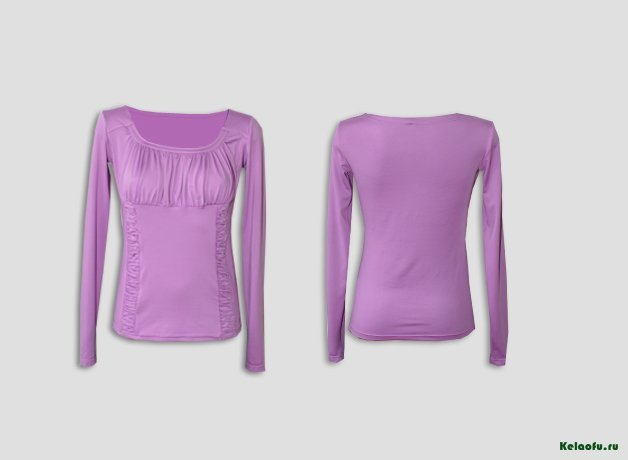 Блуза сиреневая. Артикул 72500-7