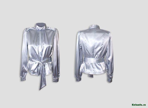 Блуза стальная. Артикул 74629