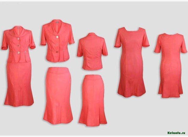 Женский костюм тройка терракотовый. Артикул 94115BL