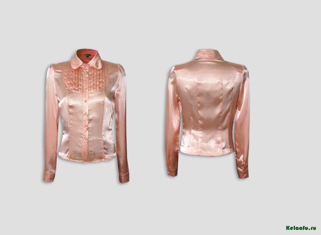 Блуза розовая. Артикул 74073