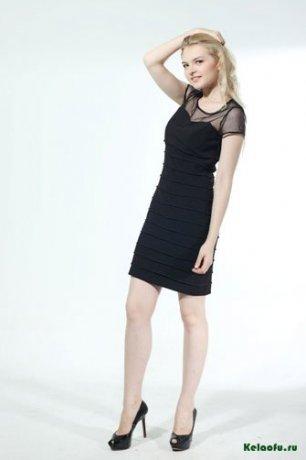 Платье черное. Артикул 74337L